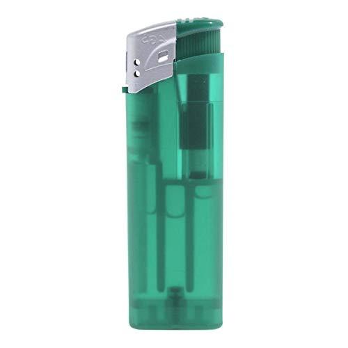 PureDay Feuerzeug Frozen - nachfüllbar - Kunststoff - Grün
