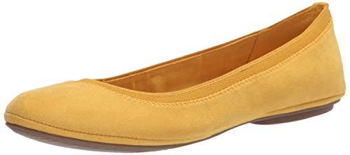 Bandolino Footwear Women's Edition Ballet Flat, Yellow, 7.5
