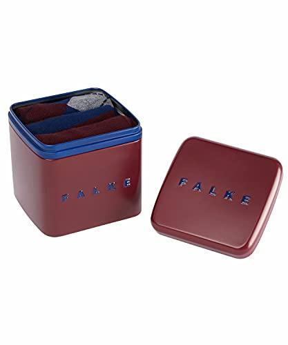 FALKE Happy Box 3-Pack Herren Socken sortiment (0010) 39-42 mit Geschenkverpackung