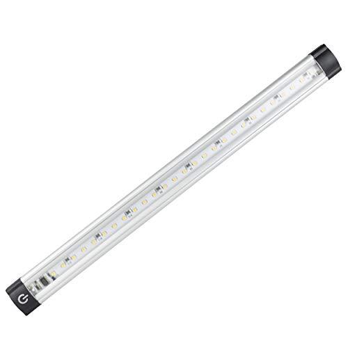Preisvergleich Produktbild REV 2405111010 TS,  LED Unterbauleuchte mit Sensor,  30.000h,  10W,  900lm,  1000 x 25 x 10 mm,  silber