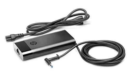 HP-PC Alimentatore Pavilion High Power Adapter 150W, Compatibile con i notebook/tablet HP con connettore da 4.5 mm, Alimentazione a 150 W, Design Potente, Compatto e Tascabile, Nero