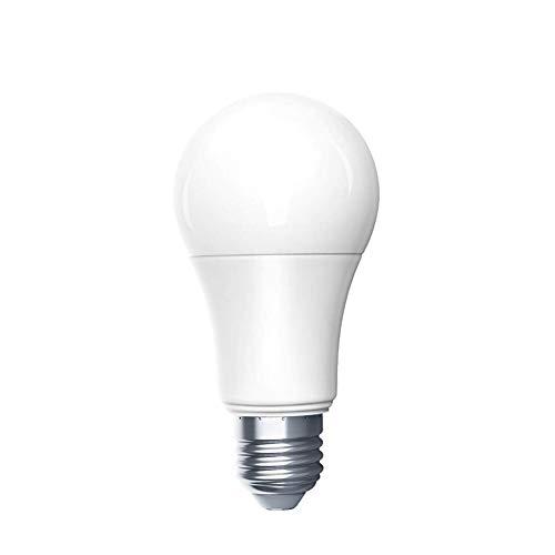 Aqara Ampoule LED, pour Aqara Ampoule E27 6500k+806LM 9W RGB Compatible avec Aqara Mijia App Télécommande Fonction de Minuterie
