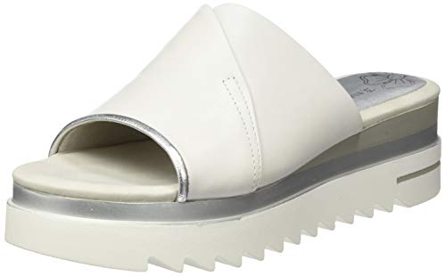 MARCO TOZZI Damen 2-2-27212-24 Pantoletten, Weiß (White Comb 197), 38 EU