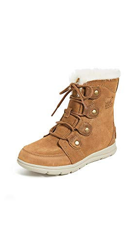 Sorel Damen Stiefel, Sorel Explorer Joan, Braun (Camel Brown/Ancient Fossil), Größe: 41