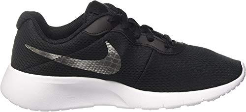 Nike Jungen Tanjun (Gs) Laufschuhe, Schwarz (Black White), 39 EU