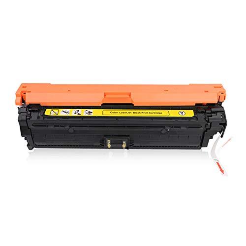 CE740A -CE743A tonercartridge, compatibele vervanging voor HP CP5225 5025 5220 (307A) serie printer, De cartridges waren eenvoudig te installeren size Geel