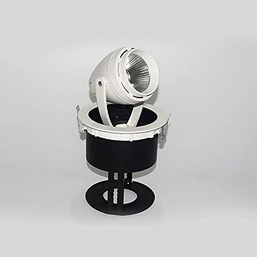 Lámpara de bombilla DIMMAB 3W D 210LM 2700K - Blanco cálido, Paquete de 1 [Clase de energía A +] [Clase de energía A +] Techo empotrado Techo Twey Bloqueo Interchangeab Superficie Monte COB Lighting B
