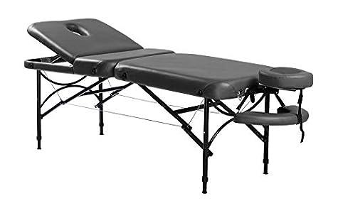 Camilla de masaje portátil de aluminio Reiku. Gama profesional. Alta resistencia con mínimo peso