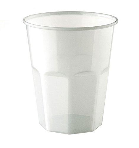 PZ 100 Gobelet Blanc ml 270 Kristal Cocktail White Mojito Coca et Rhum Happy Hour apéritif apericena PLP jetables