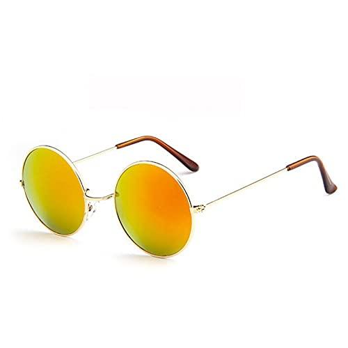Q4S Moda Gafas De Sol Redondas para Hombres Y Mujeres Gafas De Sol para Mujeres Prince Optics