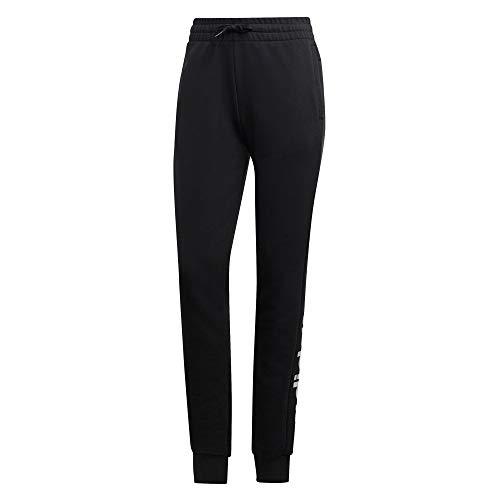 adidas W E Lin Pant Pantalones de Deporte, Mujer, Black White, 2XLS