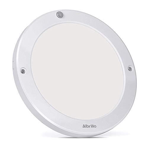 Albrillo LED Ceiling Light Motion Sensor 1200lm, 100W Equivalent Ceiling Lights for Bedroom Closet Hallway Pantry Garage, Daylight White 4000K