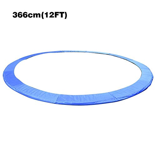 Trampoline Replacement Safety Pad Spring Cover UV Resistant Edge Protector Safety Mat Tear-Resistant Round Long Lasting Trampoline Edge Cover 10ft/12ft in Diameter