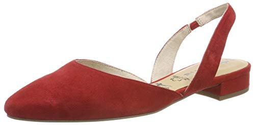 Tamaris Damen 1-1-29401-22 Slingback Pumps, Rot (Chili 533), 37 EU