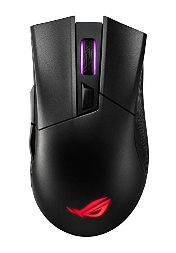 ASUS ROG Gladius II Wireless optische Gaming Maus (DPI-Taste, AURA Sync, 12000 dpi, Bluetooth), Schwarz