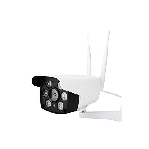 DAUERHAFT Cámara WiFi Impermeable de Audio bidireccional, Compatible con Tarjeta TF y Tarjeta de Memoria 64G(British regulatory)