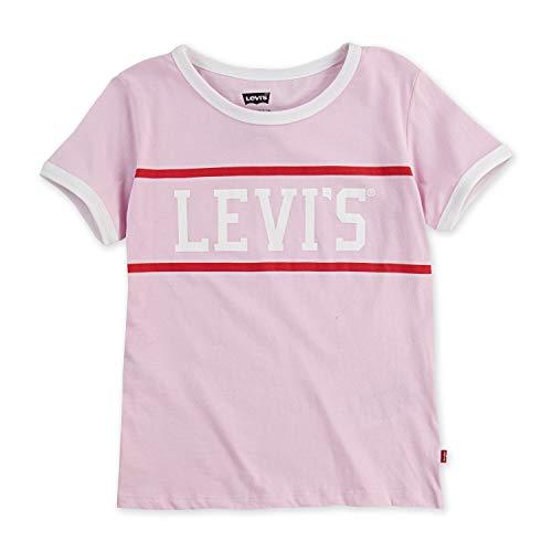Pink Kids Ringer T-Shirt - 3