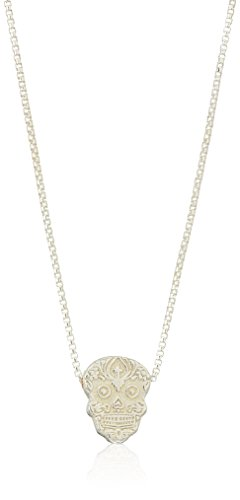Alex and Ani Women's Calavera 18 inch Adjustable Necklace, Sterling Silver