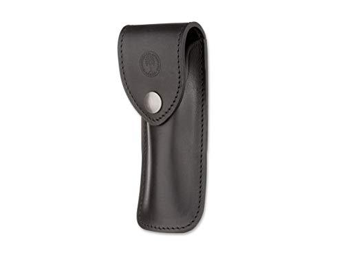 BÖKER PLUS Messer Französisches Leder-Etui Schwarz Groß Couteau Mixte, Noir, Standard