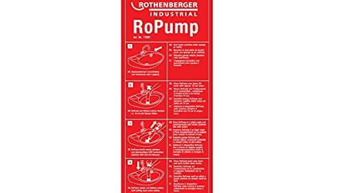 Rothenberger IndustrialSaugdruckreiniger RoPump, Abflussreiniger zum Beseitigen von Rohrverstopfungen im Bad und WC. - 6