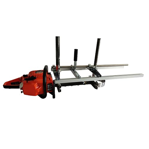 TTF chainsaw mill chainsaw milling attachment chainsaw sawmills 14 to 36 Inch(304 Stainless Steel)