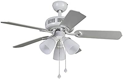 Westinghouse Lighting 7871500 Contempra Iv Four Light 52 Inch Five Blade Indoor Ceiling Fan