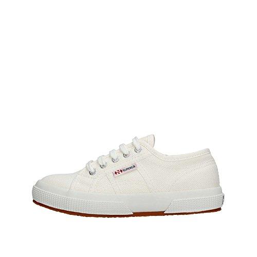 Superga 2750-Jcot Classic, Sneaker Unisex - Bambini, Bianco (901), 27 EU