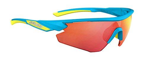 Salice 012RW - Gafas de Ciclismo, Color Turquesa, Talla única