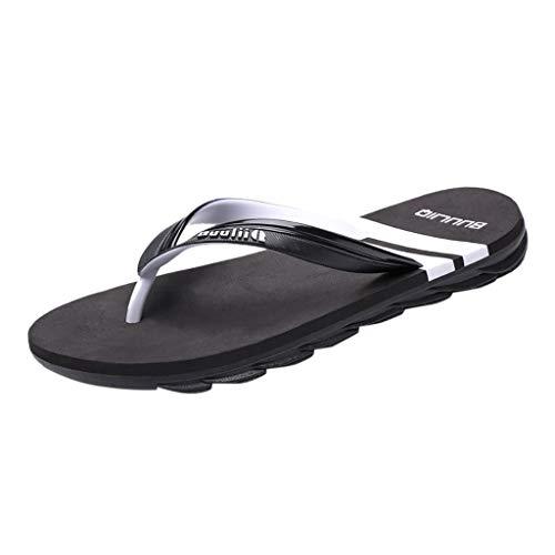 Fannyfuny_Zapatos Hombres Unisexo Zapatos Mujeres Chanclas para Hombre Zapatillas de Playa Sandalias Verano de Casa Flip-Flops Zapatillas de Trabajo Unisex Zapatos de Playa y Piscina para Hombre