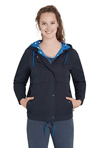 loud + proud Wasserabweisende Jacke Damen aus Bio Baumwolle, GOTS Zertifiziert