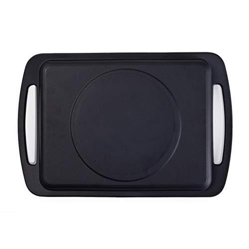 UCYG Induction Cooker Bakeware Teppanyaki Schaal, Huishoudelijke Inductie Cooker Barbecue Schaal, Gebakken Steak Squid Schaal Nonstick Fry Pan