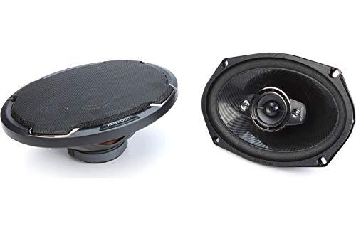 Kenwood KFC-6986PS 6 x 9 Inch 400W 3-Way Car Audio Flush Mount Coaxial...
