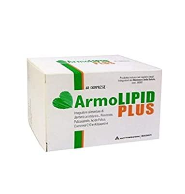 ROTTAPHARM ArmoLIPID Plus Integratore Colesterolo Cholesterol Supplement 60cp