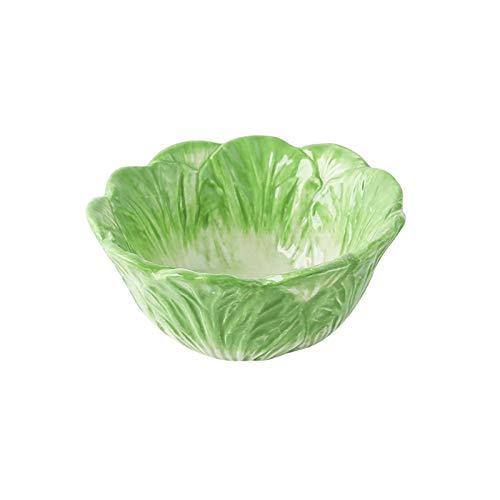 Vajilla de porcelana de colagrafía china de 4.5 pulgadas, tazón para niños lindos, tazón de ramen de la casa, ensalada, cereal, cuenco de caramelo decorado con conejo, adecuado para uso doméstico diar