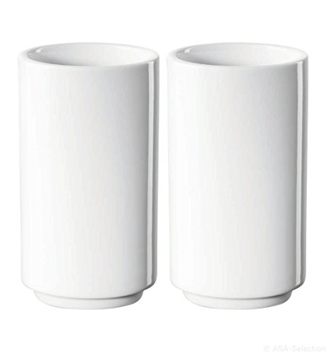 ASA 51501017 APERO Novo Grissini Set 2 Tasses Blanc 10,7 cm