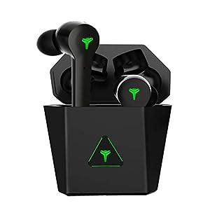 【Gaming mit geringer Latenz + Dual-Musikmodus】 Die Standardeinstellung des Headsets ist der Musikmodus. Wenn Sie jedoch das linke oder rechte Ohr 2 Sekunden lang gedrückt halten, wird automatisch in den Spielemodus gewechselt. Im Spielemodus können S...