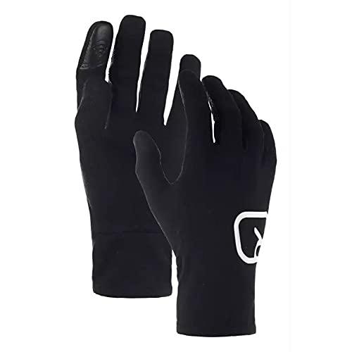 Ortovox 185 Rock'n'Wool Glove Liner Handschuhe Black Raven S
