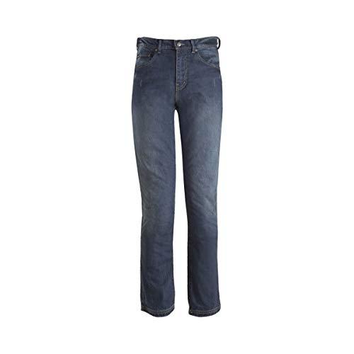 103406013238 - Bull-It SR6 Vintage 17 Straight Fit Blue Motorcycle Jeans 38 Regular