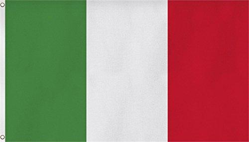 normani Fahne mit Messingösen 90 x 150, 150 x 250 oder 300 x 500 cm wählbar Farbe Italien Größe 150 x 250