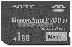 Sony 1 GB Memory Stick PRO Duo Flash Memory Card MSMT1G