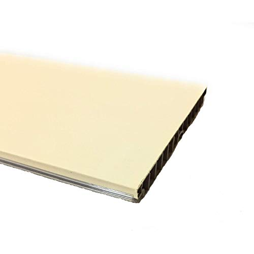 Zoccolatura per cucina 2 metri, 10 h, zoccolo, zoccolatura, ottima per la cucina, resistente colore panna LUNGHEZZA 2 METRI