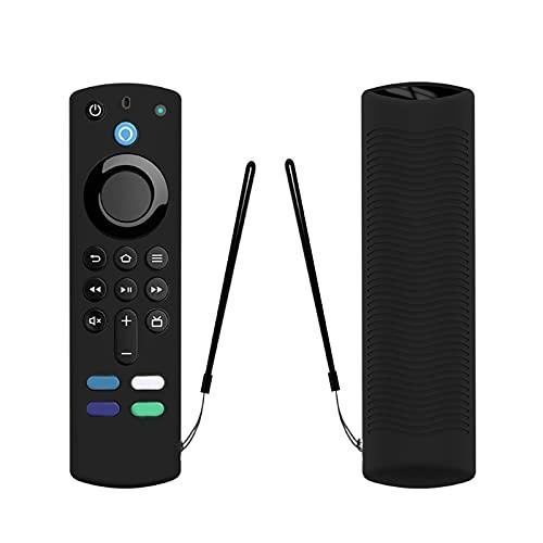 Incdnn Funda de silicona para TV con mando a distancia desmontable para 2021 3ª generación de protección resistente al polvo