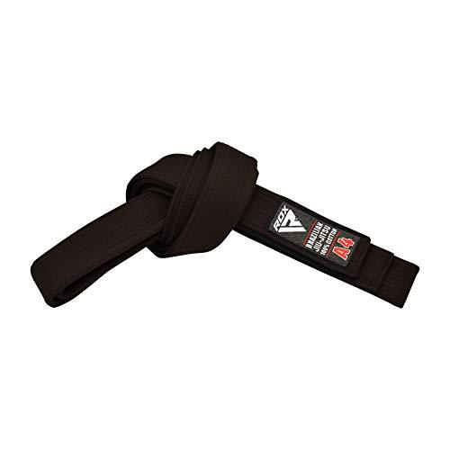 RDX Brazilian Jiu-Jitsu Cinturón, Unisex, marrón, A0