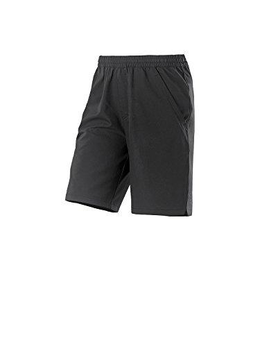 Joy Sportswear Robin Herren Sporthose kurz für Sport, Gym & Freizeit Normalgröße, 52, Black
