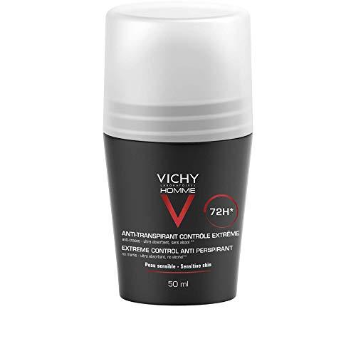 VICHY Desodorante antitranspirante Para Hombre - Extra sensible 72H, 50ml
