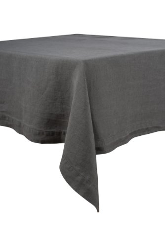 Harmony - Serviette Nais - 100%lin stone wash - Granit - 41*41
