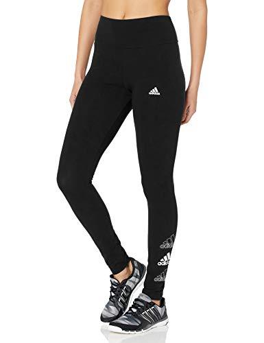adidas womens Sport Leggings Black/White 3X
