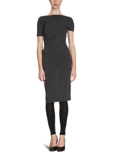 Calvin Klein CK KWW368 JHH00 - Vestido Largo hasta la Rodilla para Mujer Gris M96 42 (36)