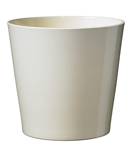 Soendgen keramiek bloempot, Dallas Style 19 x 19 x 18 cm vanille