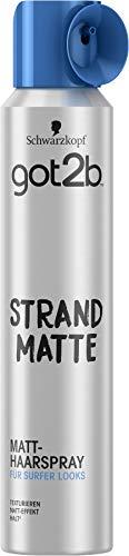 Schwarzkopf got2b Haarspray Strandmatte vegan, 1er Pack (1 x 200ml)